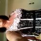 Coloană / Teacă Lungime Podea Dantelă Bal Seară Formală Bal Militar Rochie cu Mărgele Dantelă de TS Couture®