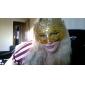 rece jumătate față pvc masca unisex petrecere de Halloween (culoare aleatorii)