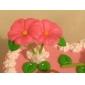 Trei gauri frunze frunze de silicon Mold Fondant Matrite Sugar Meșteșug Instrumente de rășină de flori de mucegai pentru prăjituri