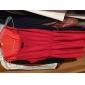 femei rochie roșie solid, curea sexy fără mâneci mini
