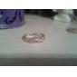 Inele Petrecere Casual Bijuterii Aliaj Dame Verighete 1 buc,8 Auriu Argint