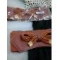 retro centura elastica bowknot femei