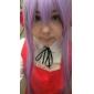 Peruci de Cosplay Black Butler Hannah Anafeloz Violet Lung Anime Peruci de Cosplay 80 CM Fibră Rezistentă la Căldură Feminin
