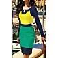 Femei de culoare de contrast de brodat rochii lungi