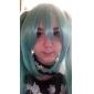 Perruques de Cosplay Vocaloid Hatsune Miku Vert Extra Long Anime/Jeux Vidéo Perruques de Cosplay 130 CM Fibre résistante à la chaleur
