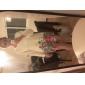 Femei Rochie Vintage Shift Floral Stil Nautic Lungime Genunchi Bumbac / Altele