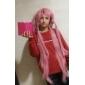Peruci de Cosplay Viitorul Jurnal Gasai Yuno Roz Lung / Drept Anime Peruci de Cosplay 80 CM Fibră Rezistentă la Căldură Feminin