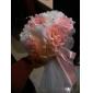 Flori de Nuntă Rotund Trandafiri Buchete Nuntă Petrecere / Seară Satin Bumbac Multicolor