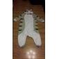 Kigurumi Pijamale Pisici Chi-ul lui Sweet Home / Brânză pisică Onesie Pijamale Costume Lână polară Gri Cosplay Pentru Adulți Sleepwear