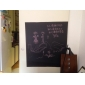 Tablă de scris cu creta Perete Postituri Acțibilduri de Tablă Autocolante de Perete Decorative,Vinil MaterialDetașabil Re-poziționabil