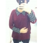 puncte femeilor polka libere pelerină cu maneci pulover