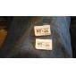 dublu microSD / ban la MS Pro Duo card de memorie adaptor (alb)