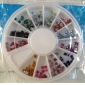 12 Couleur Place strass nail art decoraitons