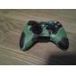 caz de protecție silicon dual-culoare pentru Xbox 360 controler (verde și negru)