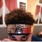 Bijuterii / Accesoriu de Păr Inspirat de Naruto Cosplay Anime Accesorii Cosplay Cordeluțe Negru / Roșu / Albastru Aliaj / Poliester