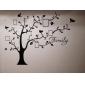 Botanisk Väggklistermärken Väggstickers Flygplan Dekrativa Väggstickers Fotostickers,Vinyl Material Kan tas bort Hem-dekoration