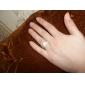 Verighete Ștras Aliaj La modă Auriu Argintiu Bijuterii Petrecere 1 buc