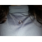 Dame Coliere cu Pandativ Heart Shape Aliaj Iubire European costum de bijuterii Bijuterii Pentru Petrecere