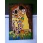 Pictat manual Faimos Vertical, Clasic Modern Tradițional Hang-pictate pictură în ulei Pagina de decorare Un Panou