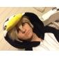 Kigurumi Pijamale Pinguin Onesie Pijamale Costume Lână polară Negru Cosplay Pentru Adulți Sleepwear Pentru Animale Desen animat Halloween
