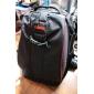 Caden anti-furt Waterproof nailon Rucsac Călătorie Bag pentru Canon Nikon Sony DSLR - Negru