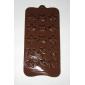 Steaua Forma Bomboane de ciocolată Mold