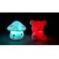 Coway Lovely ciuperci Stil de colorat cu LED-uri de lumină lampă de noapte