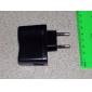 UE mufă USB AC DC de alimentare perete Adaptor încărcător MP3 MP4 DV încărcător (negru)