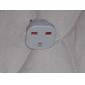 UE Plug pentru mai multe Universal Plug rotund adaptor de călătorie cu obturator de siguranță (110-240V)
