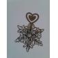 Aliaj Zinc Favoruri practice Semne de Carte & Cuțite pentru Scrisori Temă Clasică Argintiu