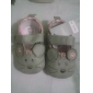 FETE - Pantofi Flați ( Negru/Roz/Roșu ) - Comfort/Vârf Închis