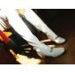 Pantofi pentru femei - Piele Originală - Toc Gros - Pantofi la Modă - Cizme - Rochie - Bej / Alb / Roșu / Negru