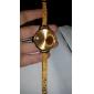 Mulan legering kvinnor klär watch-103 (guld)
