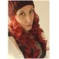 Femme Perruque Synthétique Long Partie latérale Perruque Halloween Perruque de carnaval Perruque Déguisement
