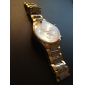 Bărbați Ceas de Mână Quartz Oțel inoxidabil Bandă Auriu
