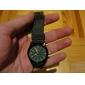 Bărbați Ceas Militar Ceas de Mână Rezistent la Apă Quartz Material Bandă Negru Verde