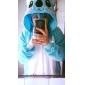Kigurumi Pijamale Koala Onesie Pijamale Costume Lână polară Albastru Cosplay Pentru Adulți Sleepwear Pentru Animale Desen animat Halloween