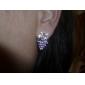 vilin kvinnors grapörhängen bröllopsfest elegant feminin stil