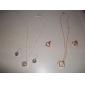 Dame Seturi de bijuterii Modă Petrecere Ocazie specială Zi de Naștere Logodnă Plastic Aliaj Σκουλαρίκια Coliere
