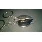Personalizate gravate cadou o pereche de inimă în formă Lover keychain