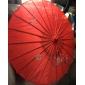 Mătase Ventilatoare și umbrele de soare Piece / Set Umbrele de soare Temă Grădină Temă Asiatică Roșu19