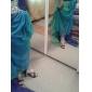 Sandales ( Noir/Or Chaussures à talons/Bout ouvert - Talon aiguille - Synthétique - pour FEMMES