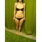 Dame Nailon Spandex Cu Bretele Cu Susținere Bustieră,Bikini Solid