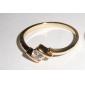 Recipient femei aur 18K Circone Ring (J1290)