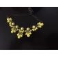 Dame Coliere Cristal Ștras Aliaj La modă costum de bijuterii Bijuterii Pentru Nuntă Petrecere Zilnic Casual