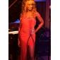 Teaca / Coloana un umar Floor-lungime Jersey rochie de seară
