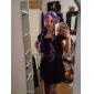 Lolita-peruker Punk Lolita Blå Färggradient Lolita-peruker 80 CM Cosplay-peruker Lappverk Peruk Till