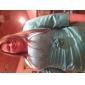 Coloană / Teacă Fără Bretele Lungime Podea Dantelă Satin Rochie Mama Miresei - Mărgele Flori Drapat Părți de LAN TING BRIDE®