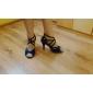 Pantaloni de catifea cord Pantofi de dans superior femei personalizate cu design elegant