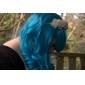Peruci Lolita Clasic/Traditional Lolita Albastru lolita Peruci Lolita 70 CM Peruci de Cosplay 纯色 Perucă Pentru